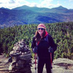 Alli on Cascade Mountain