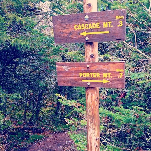 Cascade Porter Trail Signs