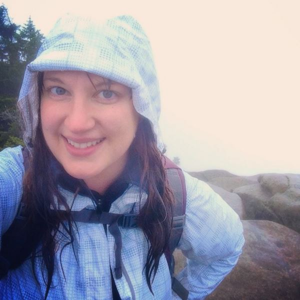 Cold, rainy day on Giant Mountain with no summit views.