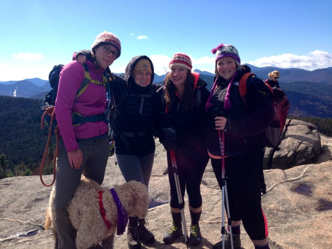 Girls on Cascade Summit