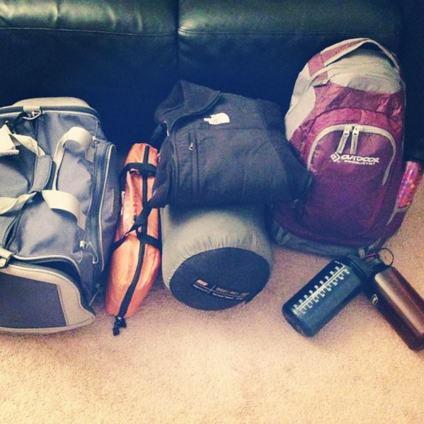 Packed for Girls' Adventure Weekend - what could possibly go wrong?