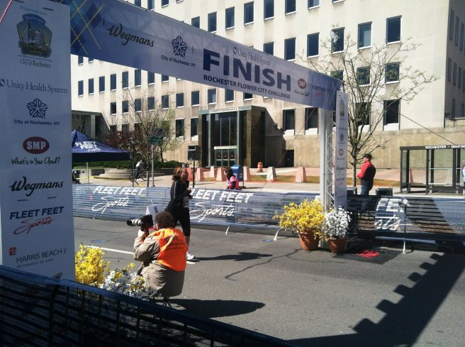 FCC Half Finish Line