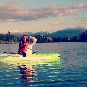 Kayaking Mirror Lake